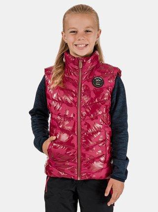 Ružová dievčenská vesta SAM 73