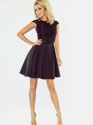 Čierne šaty numoco