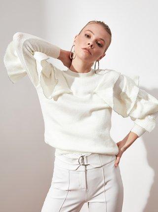 Pulovere pentru femei Trendyol - alb
