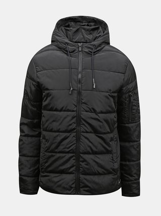 Černá prošívaná bunda Redefined Rebel