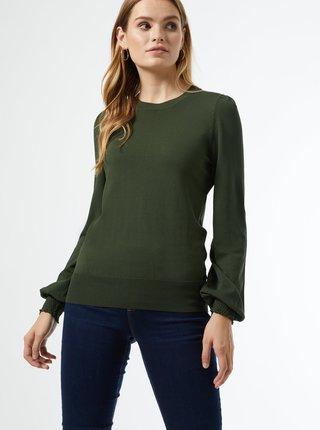 Tmavě zelený svetr Dorothy Perkins