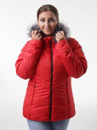 Červená dámská zimní bunda LOAP Tarra