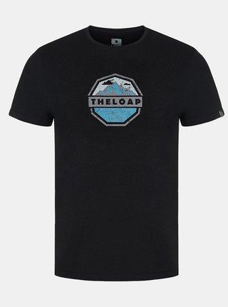 Čierne pánske tričko LOAP Altair