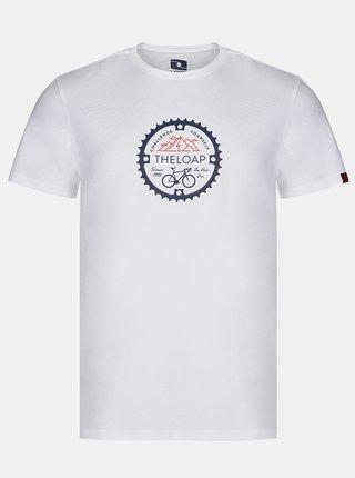 Bílé pánské tričko  LOAP Alger