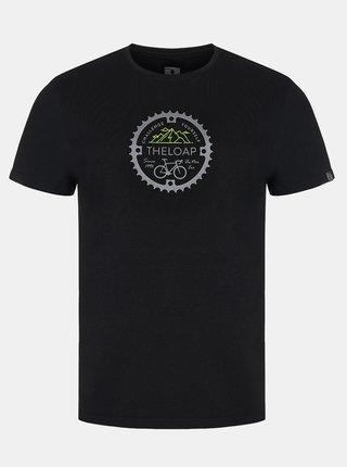 Čierne pánske tričko  LOAP Alger