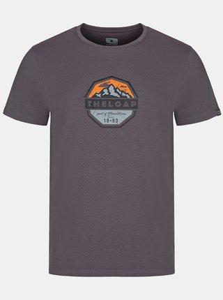 Šedé pánske tričko LOAP Altair