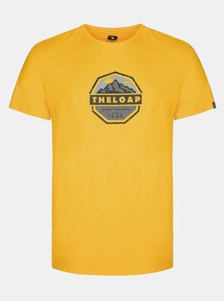 Tricouri pentru barbati LOAP - galben