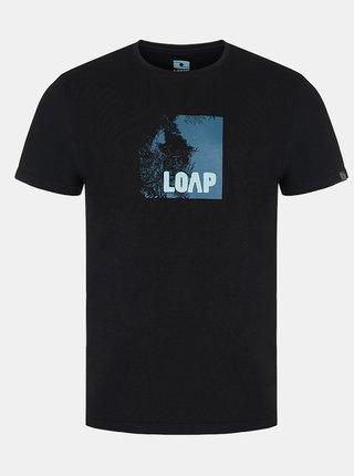 Čierne pánske tričko LOAP Alien