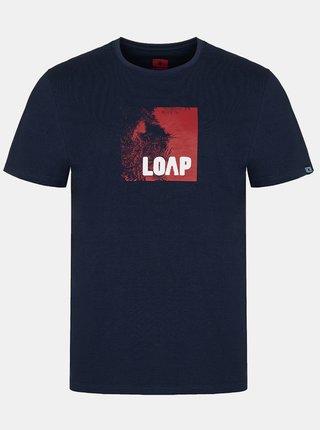 Tmavě modré pánské tričko LOAP Alien