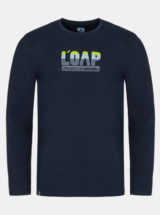 Tmavomodré pánske tričko LOAP Albi