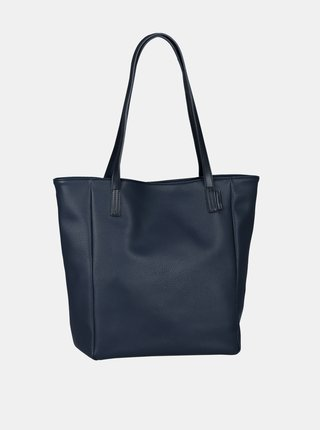 Tmavomodrý shopper Tom Tailor Denim