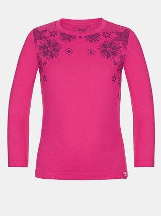 Růžové holčičí tričko LOAP Badonna