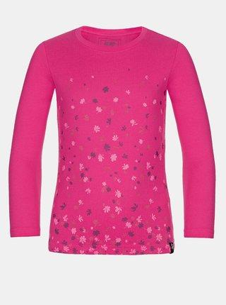 Růžové holčičí tričko LOAP Basie