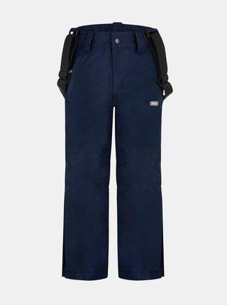 Tmavě modré klučičí lyžařské kalhoty LOAP Cufox