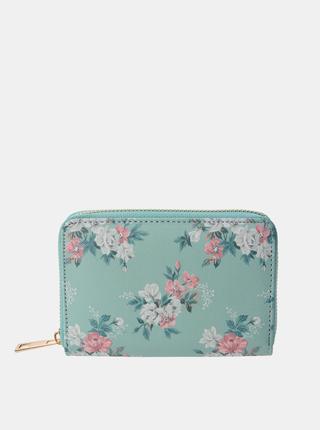 Modrá dámska kvetovaná peňaženka Clayre & Eef
