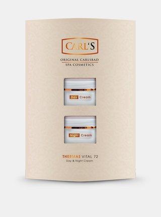 Sada vzorků denního a nočního krému na obličej CARL'S 2x15 ml