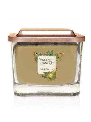 Yankee Candle vonná svíčka Elevation Pear&Tea Leaf hranatá střední 3 knoty