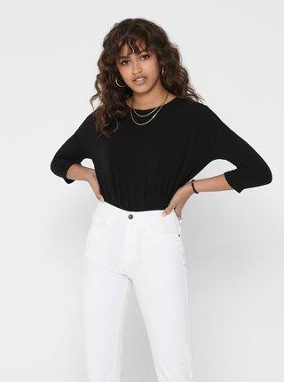 Černý lehký svetr ONLY Glamour