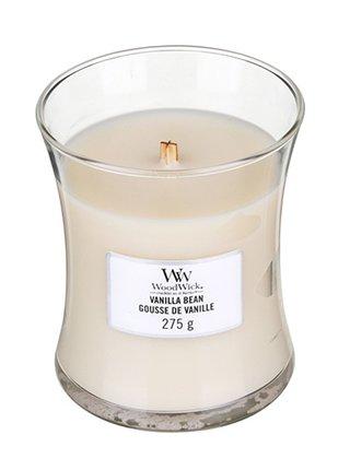 WoodWick vonná svíčka Vanilla Bean Classic střední