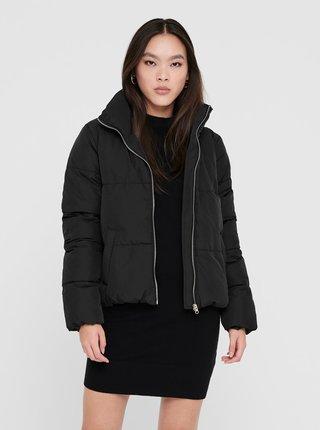 Černá zimní prošívaná bunda Jacqueline de Yong Erica