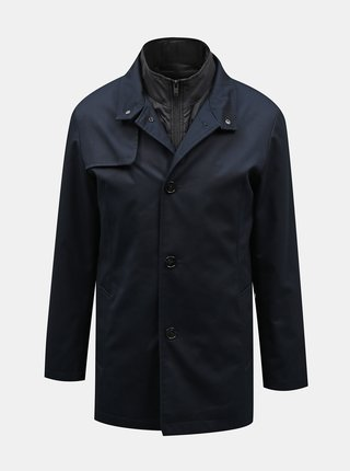 Tmavě modrý kabát Selected Homme Simon