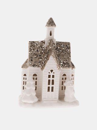 Porcelánová svítící vánoční dekorace Dakls