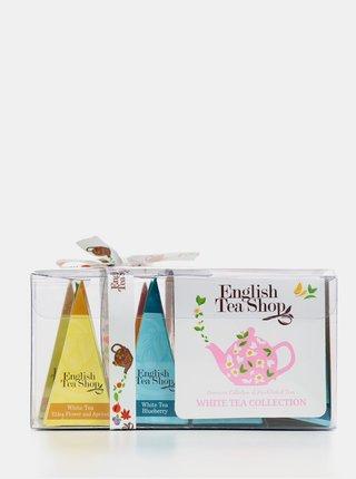 Sada dvanástich organických čajov English Tea Shop White Tea