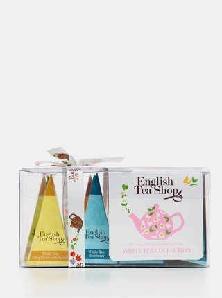 Sada dvanácti organických čajů English Tea Shop White Tea