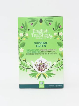 Organický zelený čaj English Tea Shop Supreme Green