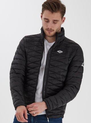 Černá prošívaná zimní bunda Blend
