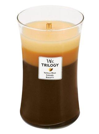 WoodWick vonná svíčka Trilogy Café Sweets velká váza