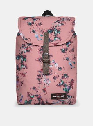 Růžový květovaný batoh Eastpak 10,5 l