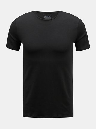 Tricouri basic pentru barbati FILA - negru