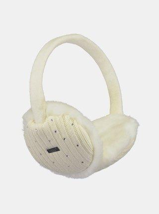 Krémové dámské klapky na uši Barts