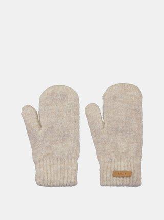 Krémové dámské rukavice Barts