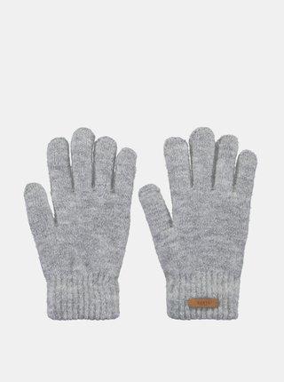 Šedé dámské rukavice Barts