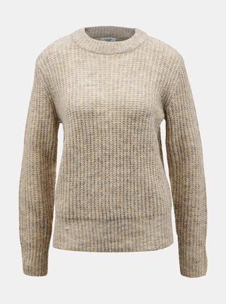 Krémový sveter Jacqueline de Yong Tessa