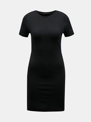 Čierne púzdrové šaty s pásom TALLY WEiJL