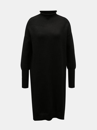 Čierne svetrové šaty ZOOT Kitty
