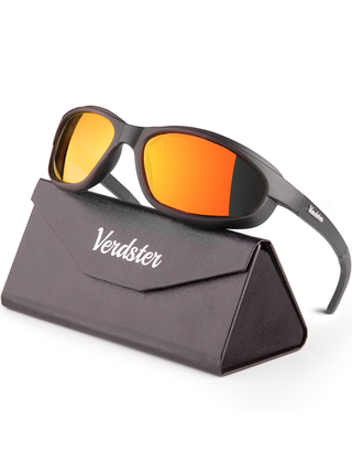 Verdster Airdam sportovní brýle REVO oranžové