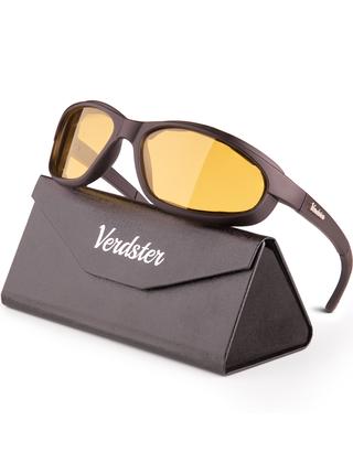 Verdster Airdam noční sportovní brýle žluté