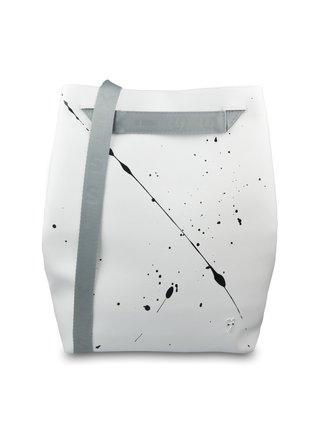 Xiss bílý městský batoh Splashed White City