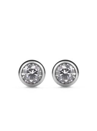 Vuch náušnice Crystalclear Silver