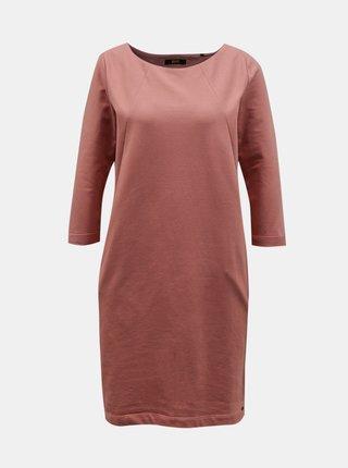Starorůžové šaty ZOOT Baseline Hana 2