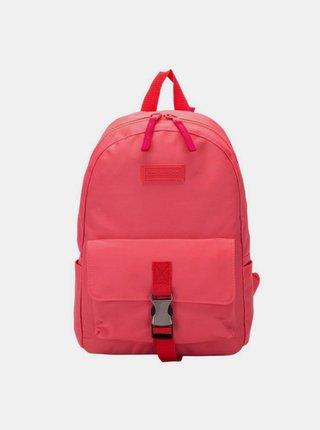 Ružový dámsky batoh Consigned