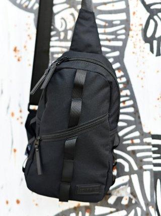 Čierna taška cez rameno Consigned