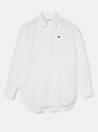 Biela dámska košeľa Lacoste