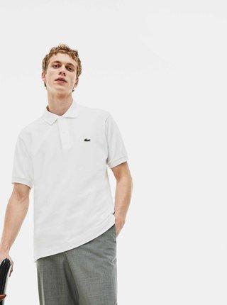 Bílé pánské basic polo tričko Lacoste