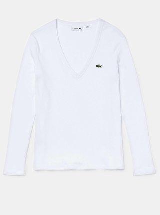 Bluze pentru femei Lacoste - alb
