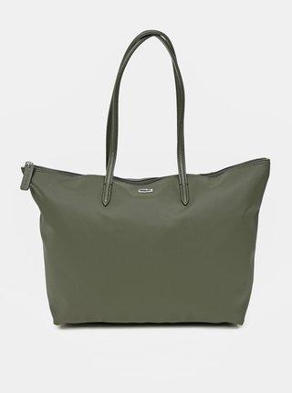 Zelený shopper Lacoste